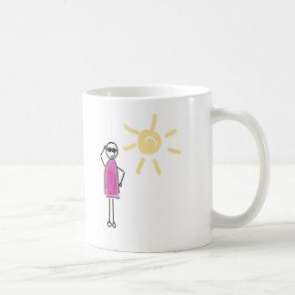 Keep coolly. The sun shines! Coffee Mug