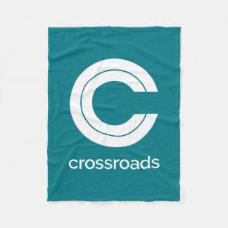 Keep Cozy with Classic Crossroads Fleece Blanket