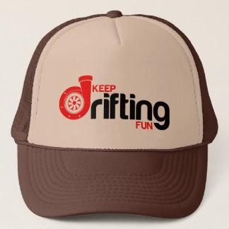 Keep Drifting Fun Trucker Hat