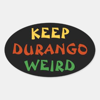 Keep Durango Weird Sticker