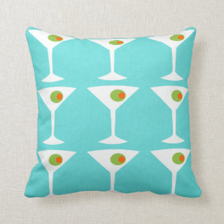 Keep 'Em Coming Martini Throw Pillow