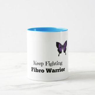 Keep Fighting Fibro Warrior Coffee Mug