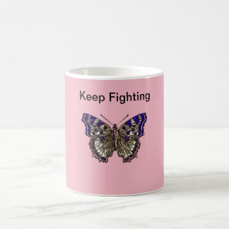 Keep Fighting Fibromyalgia Warrior Coffee Mug