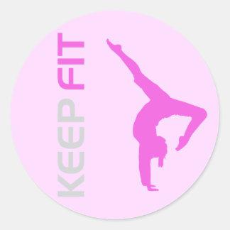 Keep Fit Sticker
