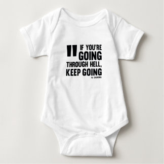 Keep going! Baby * Inspired with Quote Shop * Baby Bodysuit