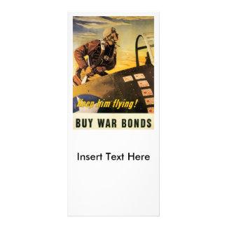 Keep Him Flying World War II Full Color Rack Card