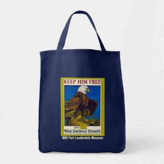 Keep Him Free Tote Bag