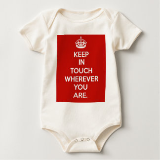 Keep in Touch Baby Bodysuit
