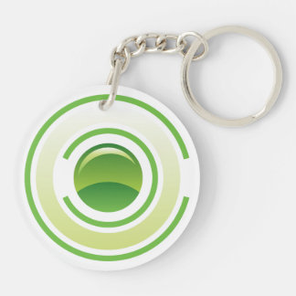 Keep it Clean Nøkkelring Double-Sided Round Acrylic Key Ring