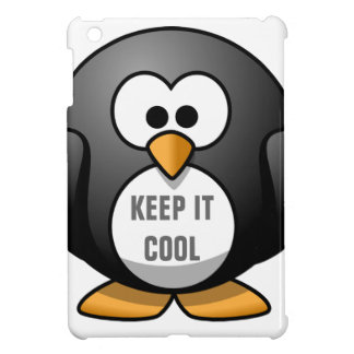 KEEP IT COOL PENGUIN - CUTE PENGUIN iPad MINI COVER