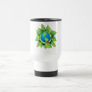 Keep it Green for Earth Day Travel Mug