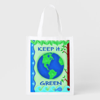 Keep It Green Save Earth Environment Art