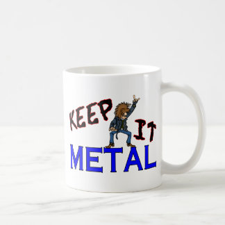 Keep It Metal Coffee Mug