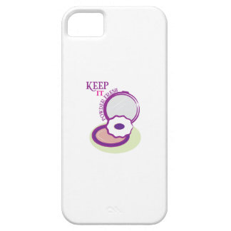 Keep It Powder Fresh iPhone 5 Cover