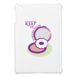 Keep It Powder Fresh Cover For The iPad Mini