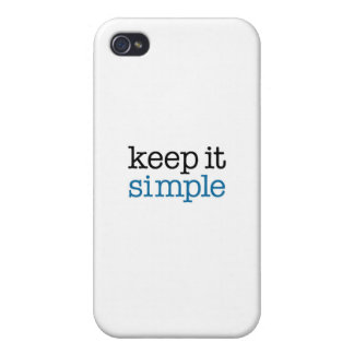 Keep It Simple iPhone 4 Covers