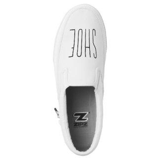Keep It Simple Slip Ons Printed Shoes
