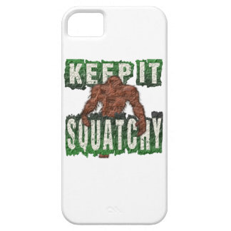KEEP IT SQUATCHY iPhone 5 COVER