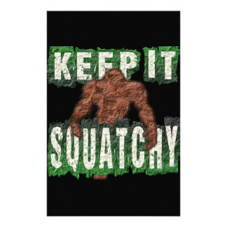 KEEP IT SQUATCHY PERSONALISED STATIONERY