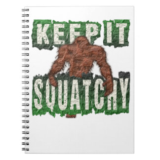 KEEP IT SQUATCHY SPIRAL NOTEBOOK