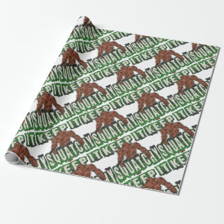 KEEP IT SQUATCHY WRAPPING PAPER