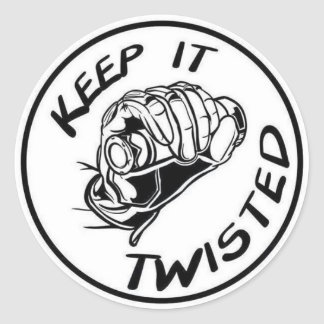 Keep IT Twisted Sticker