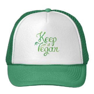 Keep it Vegan 2 Cap