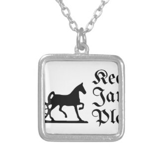 Keep Jamaica Plain Silver Plated Necklace