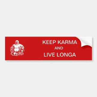 keep karma bumper sticker