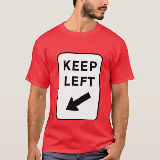 Keep Left (Oz) T-Shirt