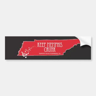 Keep Memphis Crunk - Crunker Sticker