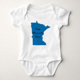 Keep Minnesota Blue! Democratic Pride! Baby Bodysuit