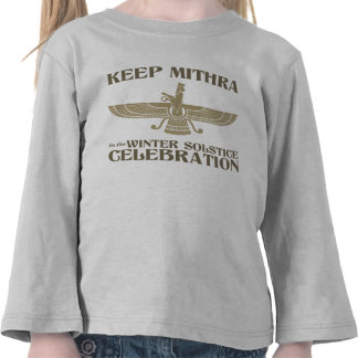 Keep Mithra in the Winter Solstice Celebration Shirt