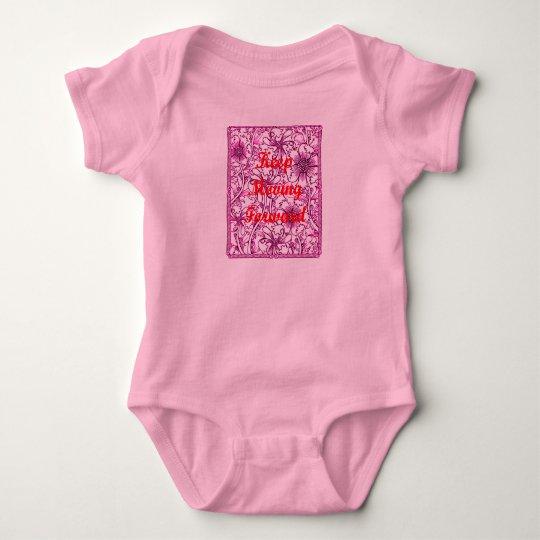 Keep Moving Forward Baby Bodysuit