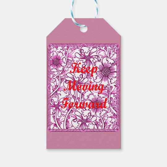 Keep Moving Forward Gift Tags