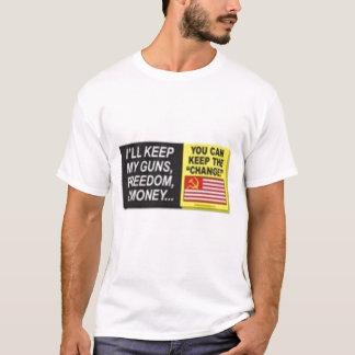 Keep_My_Guns_Large T-Shirt