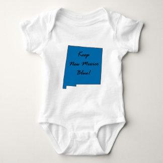 Keep New Mexico Blue! Democratic Pride! Baby Bodysuit