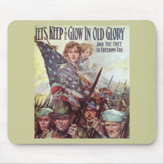 Keep Old Glory Mouse Pad