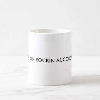 KEEP ON ROCKIN ACCORDION COFFEE MUG
