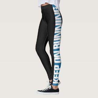 """""""Keep On Running"""" Pick The Colour Side Stripe Leggings"""