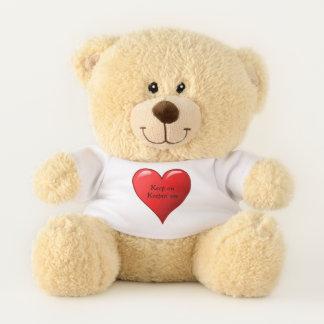 Keep on teddy bear