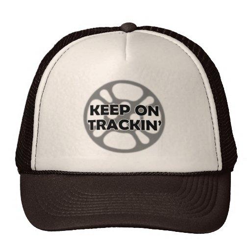 Keep on Trackin' Film Hat