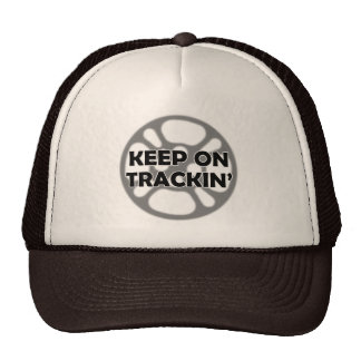 Keep on Trackin' Film Hat
