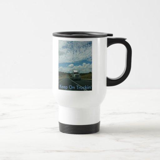 Keep On Truckin' coffee Mug