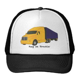 Keep on Truckin truck on hats