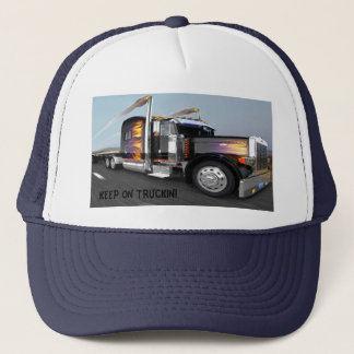KEEP ON TRUCKIN TRUCKER HAT