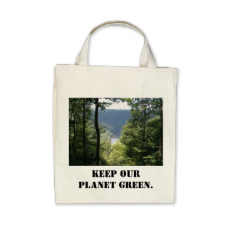 Keep Our Planet Green Bags