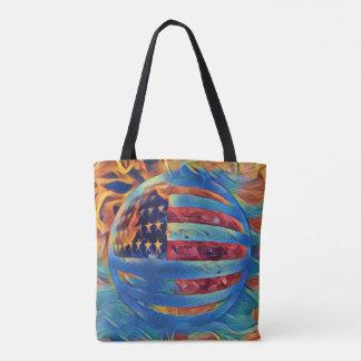 Keep Patriotism Strong Tote Bag