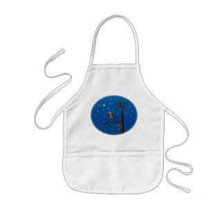 Keep Reaching Monkey Kid's Apron