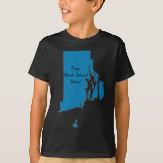 Keep Rhode Island Blue! Democratic Pride! T-Shirt